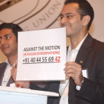The Indian Debating Union - Rahul Saini - Kartik Desai - Voting - Mumbai debate