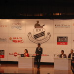 The Indian Debating Union -  The Debaters on Stage