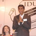 Indian Debating Union - Chairman Speech - Mumbai Debate - Praveen Chunduru - Valerie Rozycki Wagoner